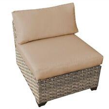 Tkc Monterey Outdoor Wicker Chair in Wheat