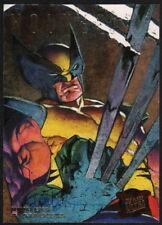 Dave DeVries SIGNED 1995 Fleer Ultra X-Men Art Card WOLVERINE Hunters Stalkers