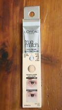 L'Oreal Paris True Match Eye Cream Dark Circle Under Eye Concealer W1-2 Fair