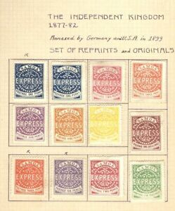 SAMOA, Classic Set of Stamps, all are been sold as Reprints