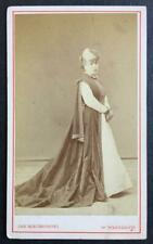 Desiree Artot, Belgian-born Soprano, SIGNED carte de visite photograph