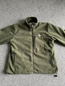 Nash Fleece Carp Fishing Jacket Size Large
