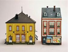 European Structures Lot of Two Buildings Assembled