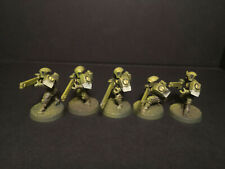 5x Fire Warriors (white) - Jungle Theme