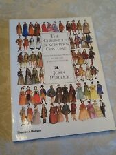 The Chronicle of Western Costume : From the Ancient World To...PB Book New!