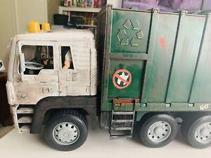 TMNT NECA custom movie garbage truck