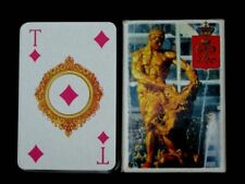 "Vintage Russian 56 Playing Cards Deck ""Peterhoff"", 3 Jokers + Extra Sheet. 2002"