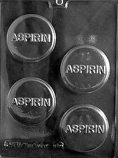 ASPIRIN PILL Chocolate Candy Mold LOP-M018