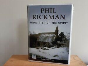 MIDWINTER OF THE SPIRIT BY ALAN RICKMAN AN UNABRIDGED 12 CASSETTE AUDIO BOOK