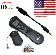 Jintu Time Lapse Intervalometer Remote Timer for Nikon D90 D600 D610 D7200 D5200