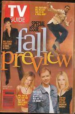 TV GUIDE MAGAZINE 2002 SEPT 14-20 FALL PREVIEW (FAIR/GOOD CONDITION) DETROIT ED.