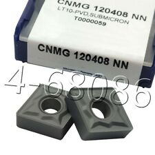 10pc CNMG120408 NN carbide insert CNMG432 NN Lathe turning Tool indexable blade
