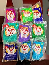 McDonald's TY TEENIE BEANIE BABIES ~ 1998 ~ Complete Set Of 11 ~
