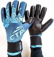 CTRL PRO Contact Foam Negative Cut Soccer Goalkeeper Goalie Gloves Black Red 11