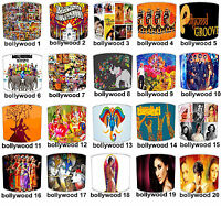Retro Vintage Asian Bollywood Indian Movies & Bollywood Groove Films Lampshades.