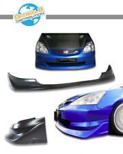 Global 8 Polyurethane Front Bumper Lip for 2002-2005 Civic 3D Si AW Style