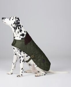 Barbour Casual Quilted Waterproof Dog Coat, Green, Size L, $65, NwT