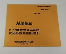 Minkus Chile, Peru No.26 1988 Supplement Stamp Album Pages