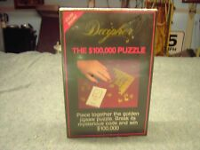 Decipher The $100,000 Puzzle 300 Golden pieces puzzle New