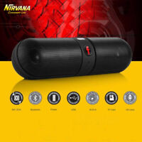 Wireless Bluetooth Loud Speaker Waterproof Outdoor Stereo Bass USB/TF/FM Radio
