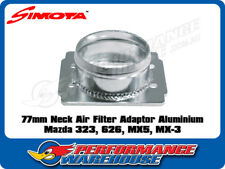 SIMOTA 77MM POD AIR FILTER ADAPTOR ALUMINIUM SUITS MAZDA 323 626 MX5 MX-3