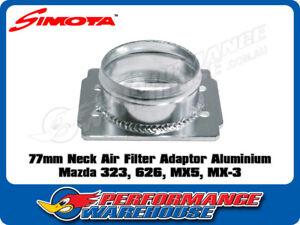 SIMOTA 77MM POD AIR FILTER ADAPTOR ALUMINIUM SUITS MAZDA 323 626 MX5 MX-3