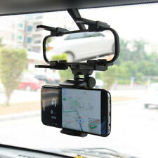 Universal Auto Car Rearview Mirror Extension Bracket Mobile Phone Stand Holder