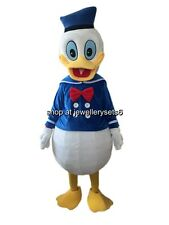 Adult Donald Duck Mascot Costume Fancy Dress Unisex Party Clothing