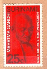 Suriname(South America)-Gandhi 25 c MNH Stamp #G26