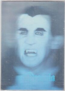 1992 UNIVERSAL STUDIOS MONSTERS DRACULA HOLOGRAM TRADING CARD  PIZZA HUT SEALED