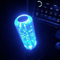 150mm Universal Blue LED Light Bubble Car Gear Stick Shift Lever Shifter Knob
