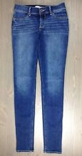 Abercrombie & Fitch Jeans 16 Slim Girls XL Straight Stretch Med Wash Denim Blue