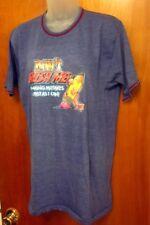 ROACH STUDIOS vtg T shirt iron-on glitter Don't Rush Me med tee Mistakes 1970s