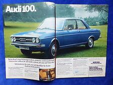 NSU Audi 100 - Werbeanzeige Reklame Advertisement 1974 __ (805