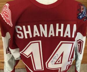 Vintage NHL ALL STAR JERSEY VANCOUVER Brendan Shanahan Signed