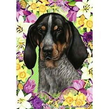 Easter Garden Flag - Bluetick Coonhound 331931