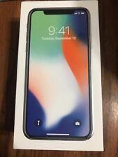 Apple iPhone X - 256GB - Silver (Unlocked) A1865 (CDMA + GSM) READ*