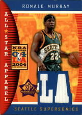 2004-05 Sp Game Used All-Star Apparel Basketball Card #Rm Ronald Murray