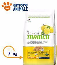 Trainer Natural Dog Mini & Toy Adult Pollo e Riso 7 kg - Crocchette cane cani