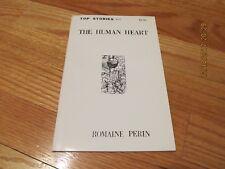 1983 THE HUMAN HEART- ROMAINE PERIN Top Stories NEW YORK #17 PB