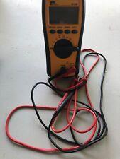 IDEAL Industries 61-320 Test Pro Digital Multimeter w/ Black & Red Leads