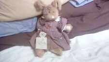 BOYDS BEARS BUNNY 'SOPHIE' excellent condition silky fur - with tags