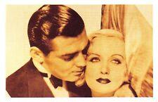 Nostalgia Postcard Carole Lombard & Clark Gable 1939 Reproduction Card NS43