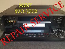 Repair service for Sony Svo-2000 power supply