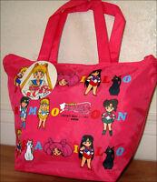 Super S SailorMoon Sling Hand Purse Bag Tote Sailor Moon Pink RARE DISCONTINUED!