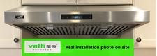 """Vatti 30"""" powerful under cabinet stainless steel range hood(VRH-B1076AT, 860CFM)"""