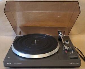 Vintage Philips AF-677 Turntable - Auto Return Vinyl Record Player - NEAR MINT!!