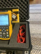 Fluke Scope Meter 123 20mhz We Have Two Read Description