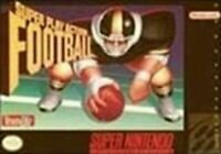 Super Play Action Football - Nintendo SNES Game Authentic