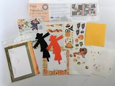 Creative Memories ETC Halloween Fall Sticker Scrapbook LOT